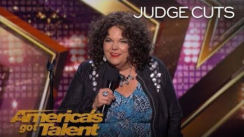 Vicki Barbolak Comedian Delivers Hilarious View On Having Kids - America's Got Talent 2018