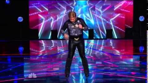 America's Got Talent 2014 Juan Carlos New York Week Day 1