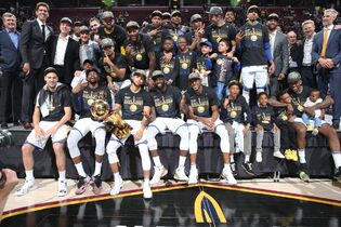 Golden State Warriors Back-To-Back 2018 NBA Champions