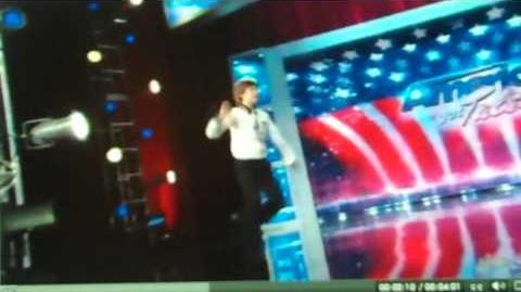 ARCADIAN BROAD AMERICA'S GOT TALENT A DANCER'S DREAM