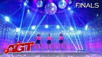 """The Bello Sisters Deliver EPIC Acrobatics to """"Physical"""" by Dua Lipa - America's Got Talent 2020"""