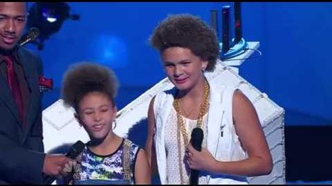 2unique - America's Got Talent 2013 Season 8 - Radio City Music Hall FULL