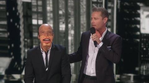 America's Got Talent 2015 S10E23 Semi-Finals - Paul Zerdin Genius Ventriloquist