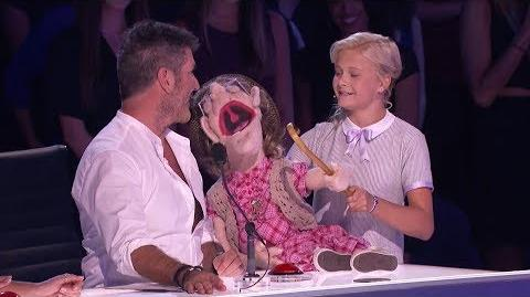 America's Got Talent 2017 Semi-Finals Darci Lynne Performance & Interview S12E19
