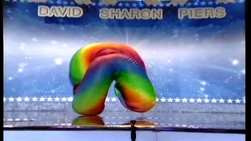 Human Slinky Live on America's Got Talent
