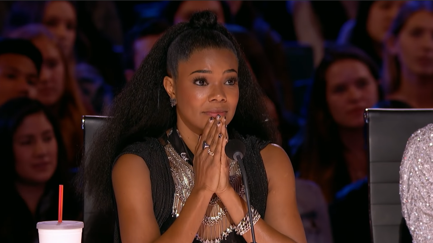 Image result for images of Gabrielle Union at 'America's Got Talent'