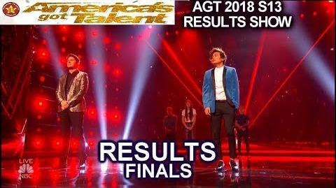 Results TOP 5 Daniel Emmet Shin Lim America's Got Talent 2018 Finale AGT
