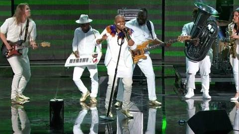 America's Got Talent 2015 S10E13 Judge Cuts - Alex Boye High Energy Band
