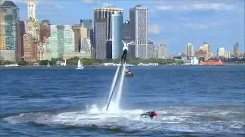 America's Got Talent 2015 S10E17 Live Shows - Damone Rippy Flyboarder