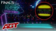 WOAH! Light Balance Kids Dance In Glowing Fast Food Costumes! - America's Got Talent 2019