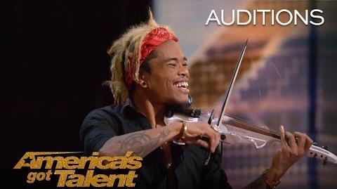 Brian King Joseph Electric Violinist Stuns With Talent - America's Got Talent 2018