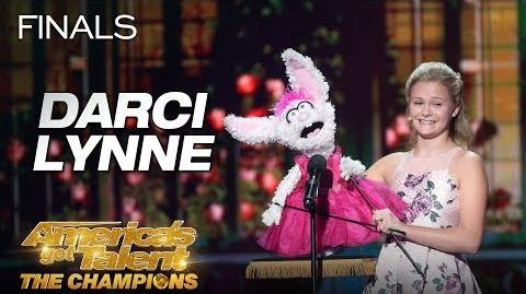 "Darci Lynne Teen Ventriloquist Sings ""O Mio Babbino Caro"" - America's Got Talent The Champions"