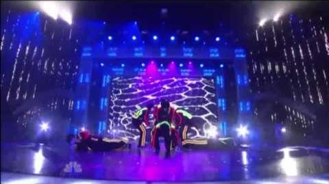 JabbaWockeeZ performs on America's Got Talent Top 48 Results