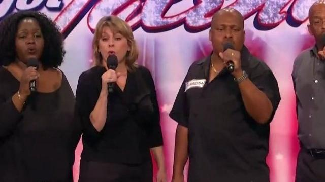 New Directions Veterans Choir 36-62 ~ America's Got Talent 2010, auditions LA-0