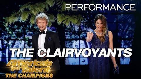 The Clairvoyants Mind-Readers Reveal Judges' Love Lives - America's Got Talent The Champions