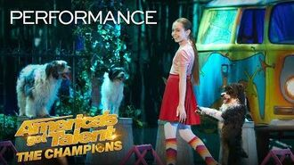 Cute And Funny Dog Tricks By The Amazing Alexa Lauenburger! - America's Got Talent The Champions