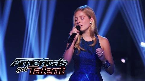 Jackie Evancho Opera Singer Returns to Perform ʺThink of Meʺ - America's Got Talent 2014