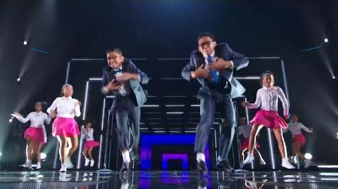 America's Got Talent 2015 S10E15 Live Shows - The Gentlemen Dancing Brothers