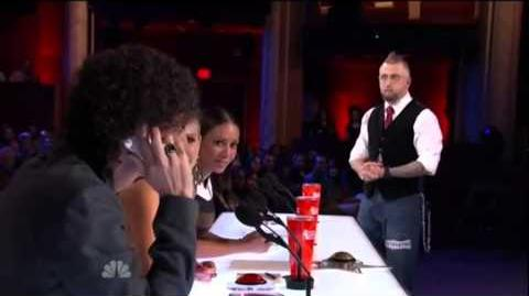 America's Got Talent 2015 Aiden Sinclair Auditions 4