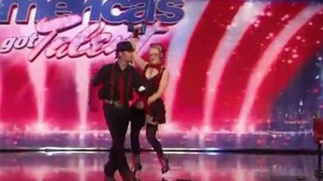 Twisted Trystan & Krystan, 23, 27 ~ America's Got Talent 2010, auditions Orlando-0