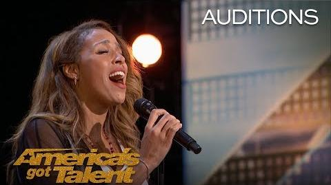 "Glennis Grace Singer Slays ""Run To You"" by Whitney Houston - America's Got Talent 2018"