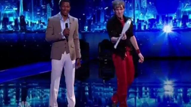 Rock Star Juggler Mike Price, Q3 ~ America's Got Talent-0