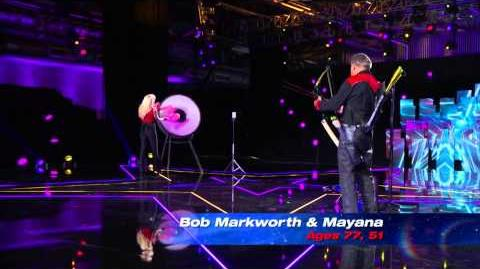 America's Got Talent S09E09 Semi-Final Variety Acts Bob Markworth and Mayana