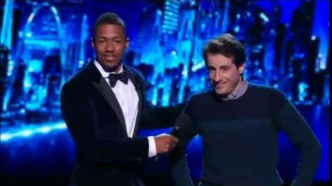 America's Got Talent 2014 Dan Naturman Semi-Final 1