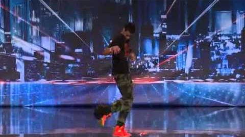 America's Got Talent 2013 - Kid The Wiz Gets His Hat To Dance - New AGT Audition