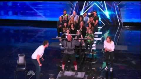 America's Got Talent 2015 6 Pack Lapadat Auditions 6