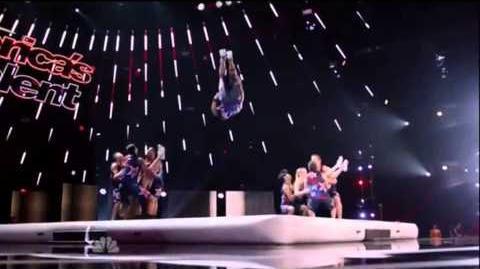 America's Got Talent 2015 X-Treme Tricking & Tumbling Judges Cuts Week 1
