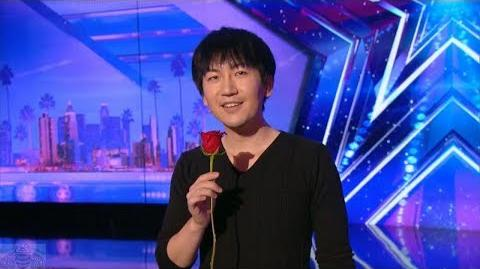 America's Got Talent 2017 Visualist Will Tsai Unbelievable Slight of Hand Full Audition S12E01
