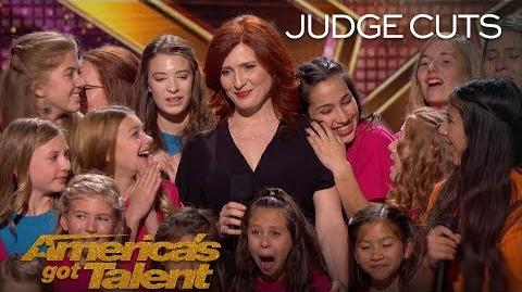 Voices Of Hope Children's Choir Moana Performance Earns Golden Buzzer - America's Got Talent 2018