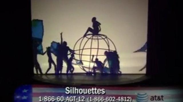 Silhouettes, Semi-Finals ~ America's Got Talent 2011-0