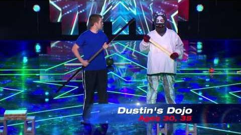 America's Got Talent S09E09 Semi-Final Variety Acts Dustin's Dojo