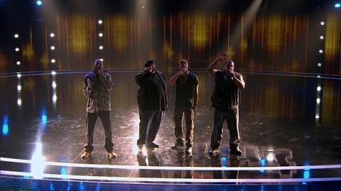 America's Got Talent 2017 Linkin' Bridge Quartet Full Judge Cuts Clip S11E08