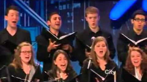 America's Got Talent 2013 3Penny Chorus Week 1