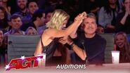 Simon Cowell TEACHES The New Judges How To Say NO and Hit Red! America's Got Talent 2019