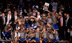 Warriors 2015 Champs