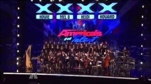 3Penny Chorus and Orchestra, 20-86 ~ AGT New York Auditions