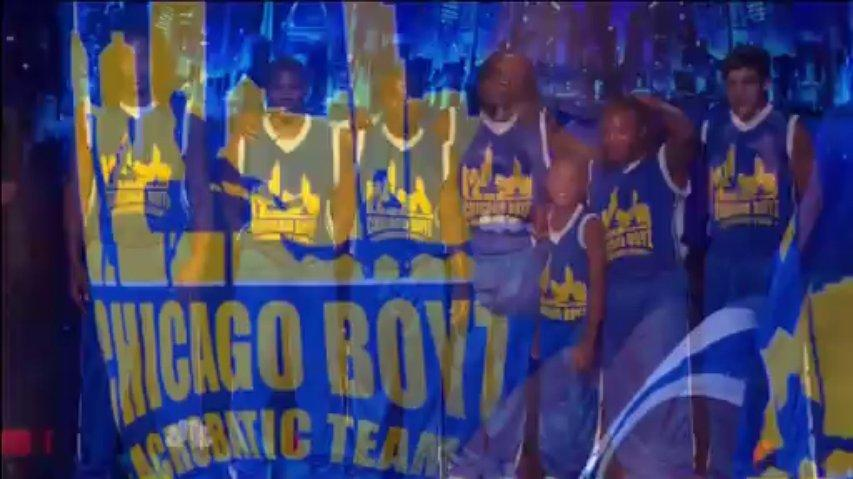 Chicago Boyz, 2nd Semi-Final ~ Agt 2013 Live