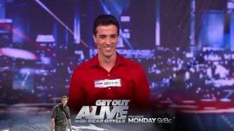 David Ferman - Molotov Cocktail Act - America's Got Talent 2013 Season 8 Week 5 Auditions