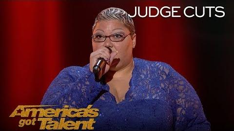 Christina Wells Singer Proves She Is Enough With Emotional Performance - America's Got Talent 2018-0