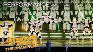 Simon Cowell's Golden Buzzer Boogie Storm Brings Amazing Dance - America's Got Talent The Champions