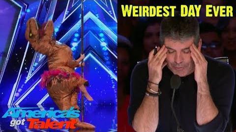 Simon has the Weirdest Day ever on America's Got Talent Week 6 Season 12