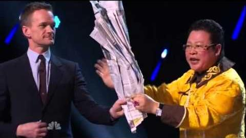 America's Got Talent 2015 Grand Master Qi Feilong Judges Cuts Week 1