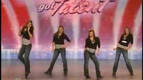 American Got Talent S3 The Southern Belles