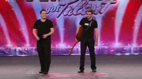 America's Got Talent 2009 Ep8 - Anthony & Matt - Dance Teacher & Student