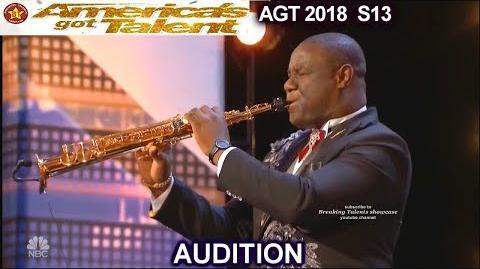 "Bensax International Saxophonist ""You Raise Me Up"" America's Got Talent 2018 Audition AGT"