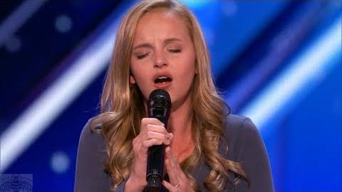 America's Got Talent 2017 Evie Clair Just the Intro S12E04